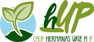 hUP logotipo – Color sobre claro
